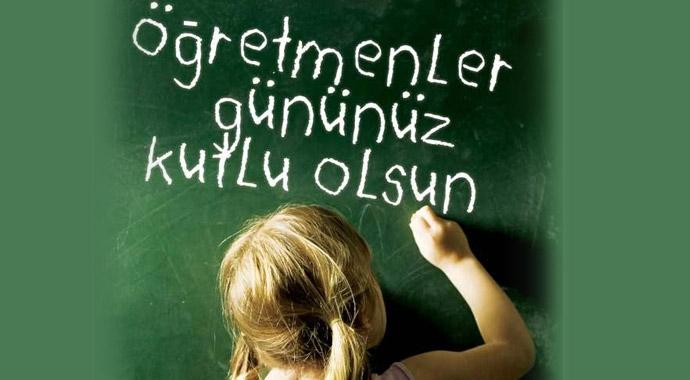 Öğretmeni karşısında diz çökmeyen düşmanın karşısında diz çöker..