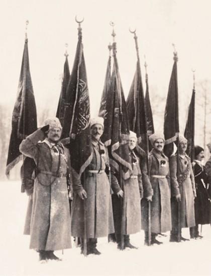 Osmanlı Sancağı Sarıkamış Harekatında 1914