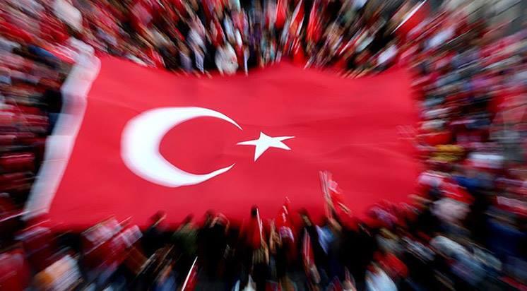 birlik olalim. turk bayragi