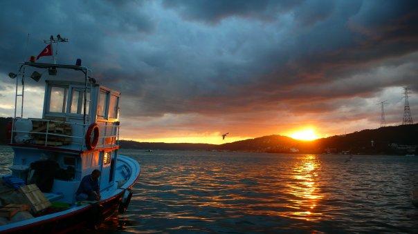 Hilmi ALICI - İstanbul'da gün batımı - Anadolu Kavağı, firüzancebni