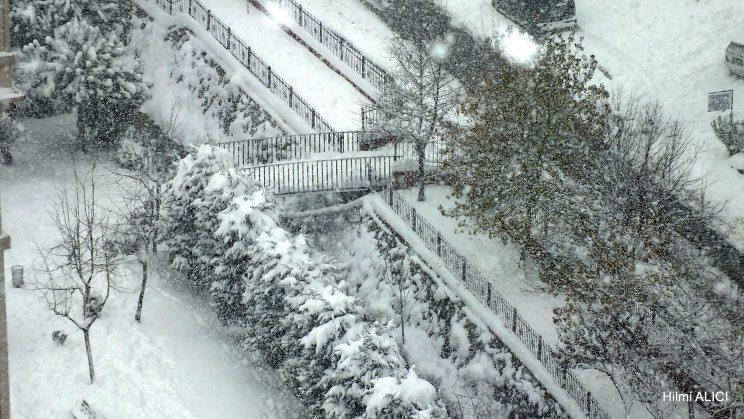 İstanbul'dan kış manzaraları
