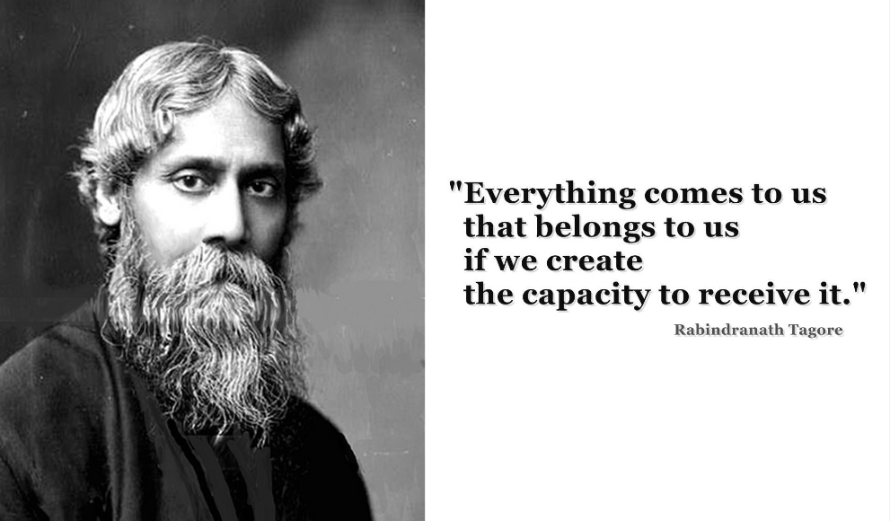 Hindistanlı ünlü şair Tagore'un şiiri..
