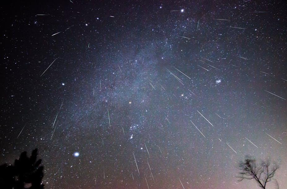 Meteor Yağmuru Türkiye'den İzlenecek. Dilek Listesi Hazırlayın :)